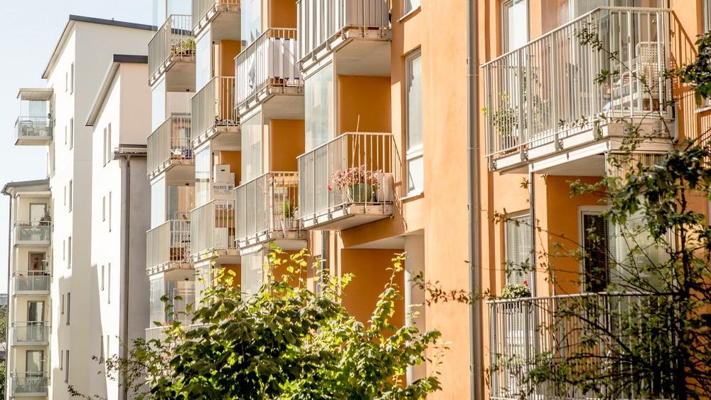 Adgangskontroll i sameie borettslag leilighetsbygg