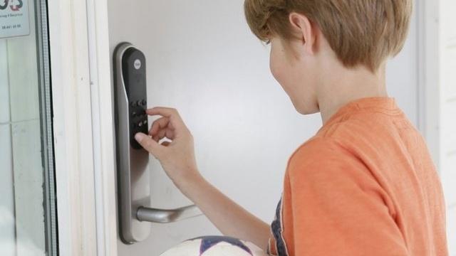 Slik får du elektronisk dørlås hjemme