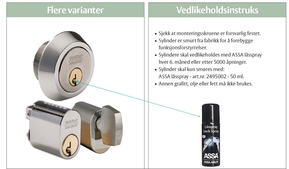 FDV sylinder cr