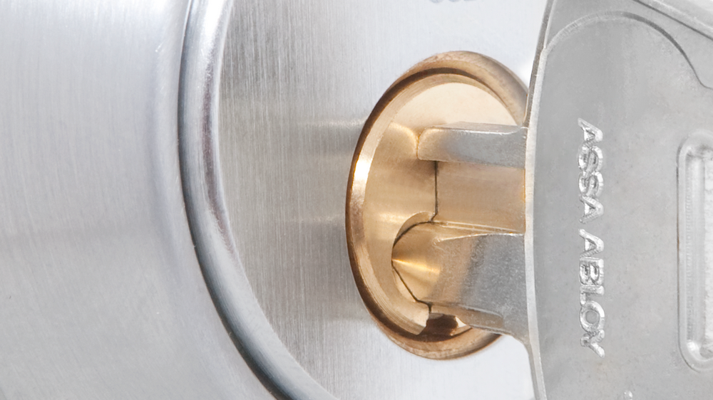 Nøkkel i låssylinder type d12