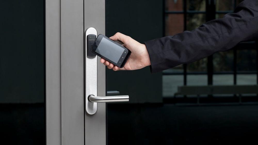Smarttelefon som adgangskort i Smartair lås