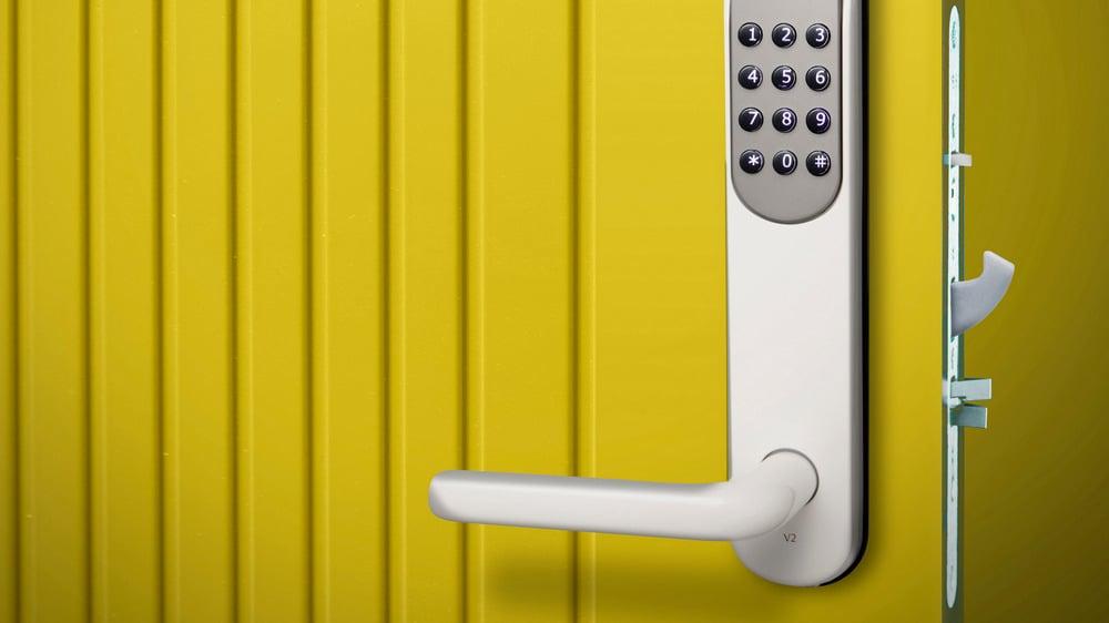 Den elektroniske dørlåsen Yale Doorman er en sentral komponent i Yale boligsikring.